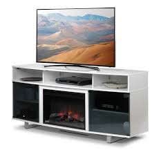 tv fireplace stand. sorenson fireplace tv stand - white tv