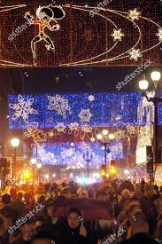 Christmas Lights For Street Lights Regent Street Lights Editorial Stock Photo Stock Image