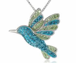 hummingbird gift necklace