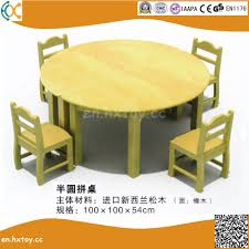china kindergarten wooden round table for kids china wooden table furniture
