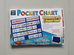 Table Top Size Chart Table Top Size Pocket Chart Numbers Counting On Carousell