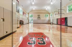 home basketball court design. Contemporary Decoration Home Basketball Court Design Of Scottie Pippen A
