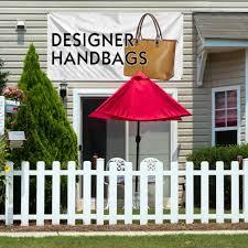 Gb Fencing Designer Landscaping Amazon Com Designer Handbags Outdoor Advertising Printing