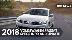 2018 volkswagen models. wonderful models hot news 2018 volkswagen passat specs info and update on volkswagen models