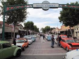 dkp pre classic cruise night on historic main st in downtown garden grove