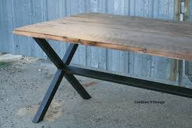 urban industrial furniture. Nice Custom Made Vintage Industrial A Minimalist In Dining Table Urban Furniture