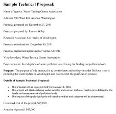 Technical Proposal Templates Technical Proposal Template