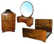 art deco bed set c 1930 4569 art deco bedroom furniture art deco antique