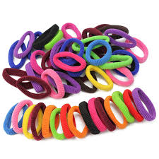 <b>50pcs Elastic Rope</b> Ring Hairband Fashion Women Girls Hair Band ...
