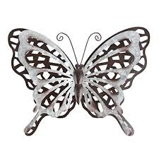 From our popular sun face outdoor wall decor and butterfly outdoor wall decor, to our tropical fish decorations and gecko outdoor wall art. Hongland Metal Butterfly Wall Decor Rust Color Art Sculpture Hanging Glass Farmhouse Decorations For Outdoor Indoor Home Garden Bedroom Metal Wall Art Decor