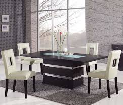 dining set modern by global furniture chicago glass dining room table with upholstered chairs contemporary set g68