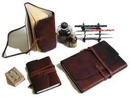 italian leather notebooks