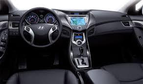 2011 Hyundai Elantra Dashboard | Car Reviews and news at CarReview.com