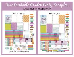 Garden Layout Template Printable Garden Planner Planner Template Free