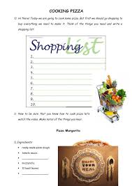 82 Free Cooking Worksheets