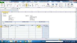purchase order spreadsheet generate automatic purchase order po in microsoft excel excel amazing tips and tricks