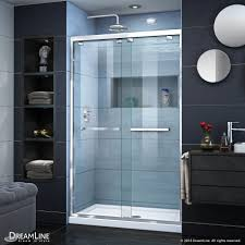 encore bypass sliding shower door