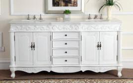 double sink vanity. 72-inch angelina double sink vanity 72\
