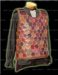 leather armor hex plated sca heavy