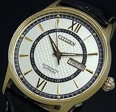 bright rakuten global market citizen x2f automatic automatic citizen automatic automatic volume mens watch gold silver dial black leather belt nh 8326 02a overseas model