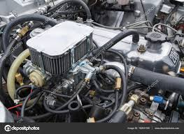 Toyota Celica 1977 engine on display – Stock Editorial Photo ...