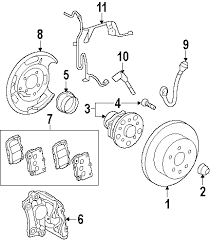 parts com® lexus gs350 suspension components oem parts diagrams 2007 lexus gs350 base v6 3 5 liter gas suspension components