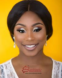 bridal makeup and hair glam tutorial perfect for stylish nigerian bride