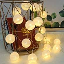 Cotton Ball LED String Lights - Amazon.co.uk