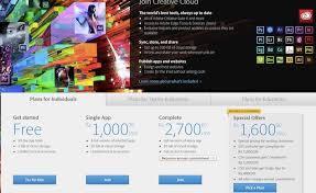 Individuals Enterprise; Adobe For Cloud Creative Plans Unveils wqwIF0p