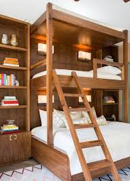 cool bunk beds for adults. Modren For Wood Adult Bunk Beds With White Bedding And Cool Bunk Beds For Adults Pinterest