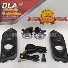 Dlaa Honda City 2017 Fog Lamp Fog Lamp Cover Black Cover Come With Wiring Kit