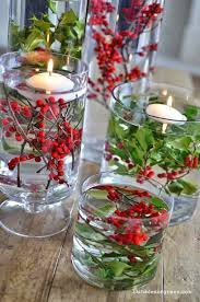 Fabulous christmas decoration ideas using candles Vases Christmas Centerpieces With Candles Water Pearls Centerpiece Christmas Fireplace Decorations Winter Table Centerpieces Pinterest 30 Red And Green Scandinavian Winter Wedding Ideas Lovely Little