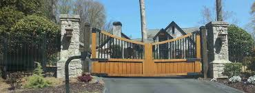 designs amazing gate wooden material gates