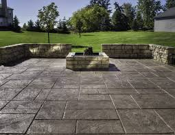 stamped concrete patio cost calculator stamped concrete for your throughout stamped concrete vs pavers stamped concrete