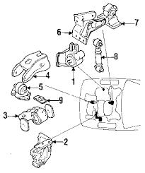 com acirc reg mitsubishi diamante engine mounting oem parts 1994 mitsubishi diamante ls v6 3 0 liter gas engine mounting
