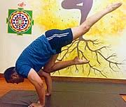 eka pada bakasana one legged crane one of the asanas in the advanced series of ashtanga vinyasa yoga