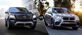 Mercedes-Benz ML350 vs BMW X5