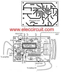 fm tuner circuit using tda7000 electronic projects circuits on simple am receiver circuit schematic