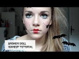 broken doll makeup tutorial gracie jo