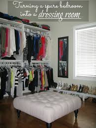 diy closet room. DIY: Turning A Spare Bedroom Into Dressing Room (on Budget) By Love And Bellinis Home Diy One Day I WIIL Do This Closet