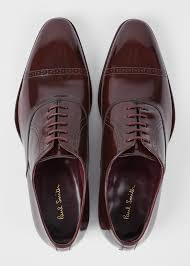 front view men s burdy patent leather lord oxford shoes