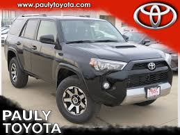 New 2018 Toyota 4Runner TRD Off-Road 4D Sport Utility in Crystal ...