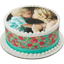 Photocake Mothers Day Round Cake Decopac