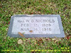 Mrs Priscilla Gilliam Nichols (1829-1916) - Find A Grave Memorial