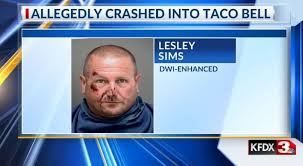 Man arrested on DWI charges following Taco Bell crash