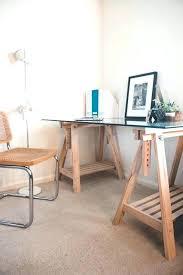 glass top desk ikea trestle table desk glass top trestle table desk trestle table desk ikea