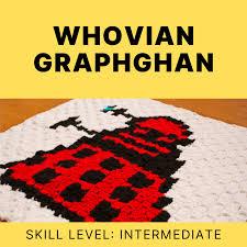 The Whovian Graphghan Yarn Geek Makes