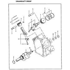 subaru engine parts model eh65 sears partsdirect crankshaft