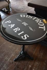 Table Bistrot De Paris - Boutique Aux Mirabelles