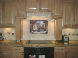 decorative tile backsplash kitchen tile ideas archway to kitchen mural backsplash 800 x 600